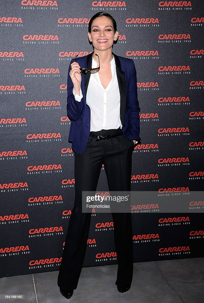 <a gi-track='captionPersonalityLinkClicked' href=/galleries/search?phrase=Laura+Ponte&family=editorial&specificpeople=578075 ng-click='$event.stopPropagation()'>Laura Ponte</a> attends 'Carrera Ignition Night' at The Matadero on March 20, 2013 in Madrid, Spain.