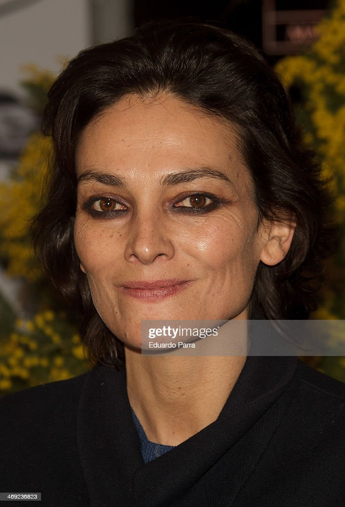 <a gi-track='captionPersonalityLinkClicked' href=/galleries/search?phrase=Laura+Ponte&family=editorial&specificpeople=578075 ng-click='$event.stopPropagation()'>Laura Ponte</a> attends Jorge Vazquez Pret a Porter collection presentation photocall at Royal Botanic Garden on February 13, 2014 in Madrid, Spain.
