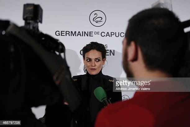 Laura Ponte attends the Carmen Award by Germaine de Capuccini on January 29 2014 in Madrid Spain