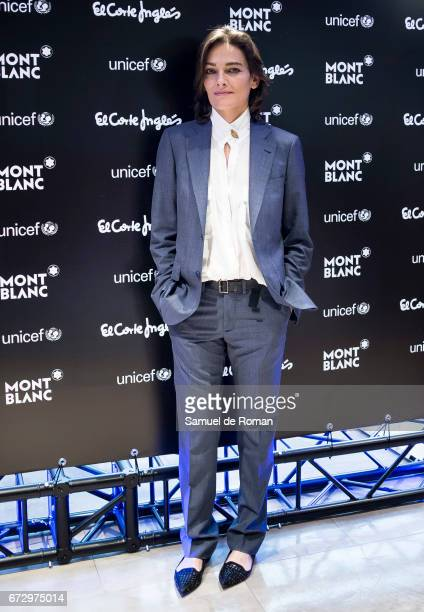 Laura Ponte attends the Montblanc Presents Charity Collection For UNICEF on April 25 2017 in Madrid Spain