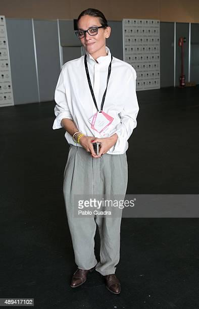 Laura Ponte is seen attending the MercedesBenz Fashion Week Madrid Spring/Summer 2016 at Ifema on September 21 2015 in Madrid Spain