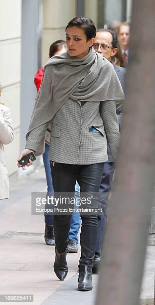 Laura Ponte is seen on May 29 2013 in Madrid Spain