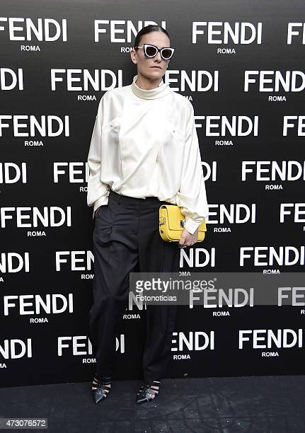 Laura Ponte launches the Fendi New Eyewear Collection at the Miguel Angel Hotel on May 12 2015 in Madrid Spain