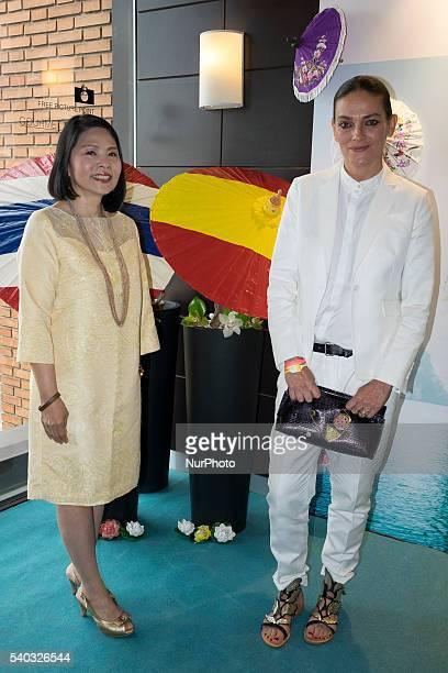 Laura Ponte presents Thailand Gastronomic Days in El Corte Ingls de Callao in Madrid Spain June 15 2016