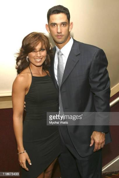 Laura Posada And Husband New York Yankee Catcher Jorge Posada