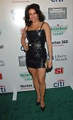 Laura Posada attends the Sports Illustrated Sportsman of The Year Party 2007 at Skylight Studios December 4 2007 in New York City