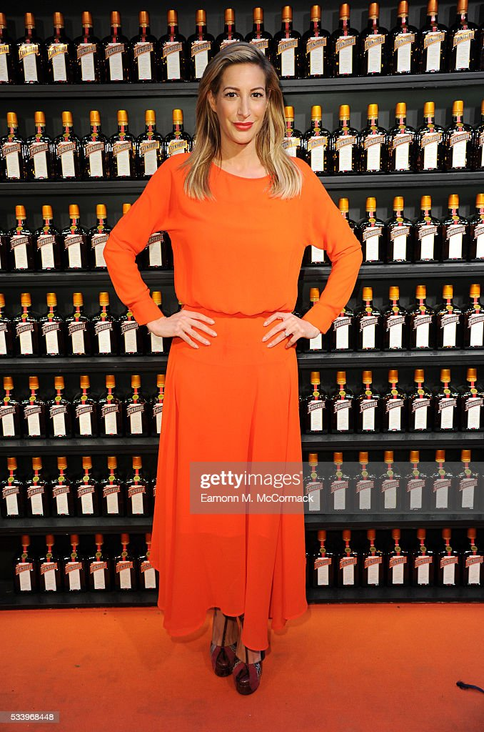 Laura Pradelska arrives for Cointreau Creative Awards at Liberty on May 24, 2016 in London, England.