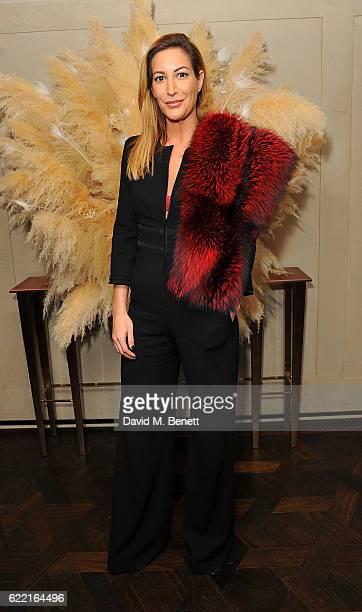 Laura Pradelska attends 5 Years of Gazelli SkinCare on November 10 2016 in London England