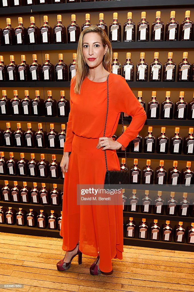 Laura Pradelska attends the Cointreau Creative Crew Award Ceremony at Liberty London on May 24, 2016 in London, England.