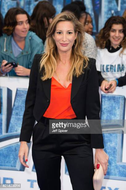 Laura Pradelska attends the 'Valerian And The City Of A Thousand Planets' European Premiere at Cineworld Leicester Square on July 24 2017 in London...