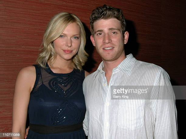 Laura Prepon and Bryan Greenberg during 'October Road' Premiere Party Inside at Geisha House in Hollywood California United States