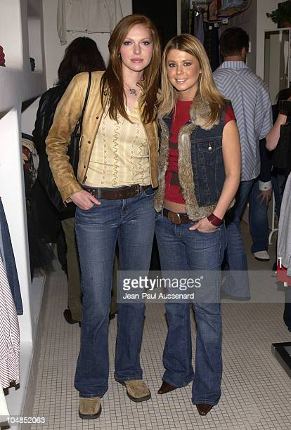 Laura Prepon and Tara Reid during Patrick Reid Store Opening at Patrick Reid Store in Santa Monica California United States