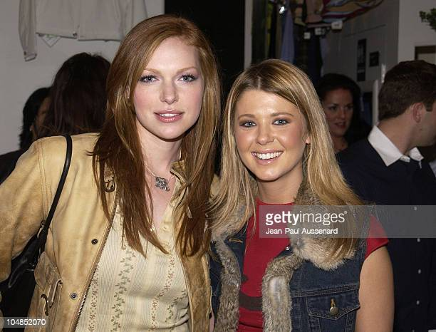 Laura Prepon and Tara Reid during Patrick Reid Store Opening at Patrick Reid Store in Santa Monica California United States
