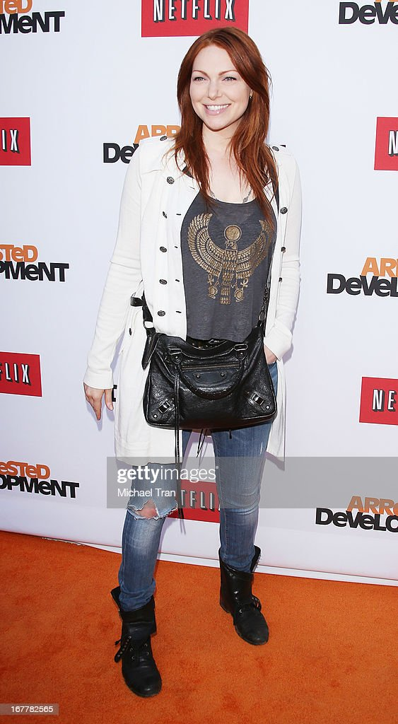 Laura Prepon arrives at Netflix's Los Angeles premiere of 'Arrested Development' season 4 held at TCL Chinese Theatre on April 29, 2013 in Hollywood, California.