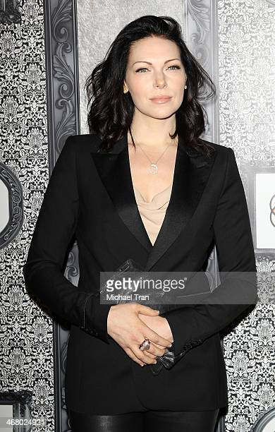 Laura Prepon arrives at the Family Equality Council's Los Angeles Awards dinner held at The Globe Theatre on February 8 2014 in Universal City...