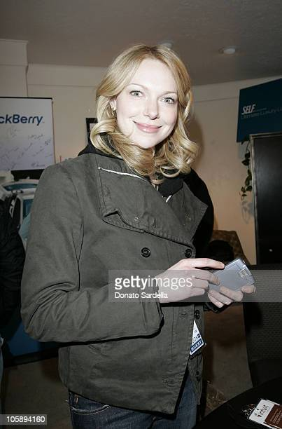 Laura Prepon at the BlackBerry 8700c Self Magazine Lounge