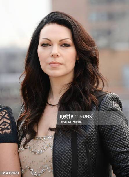 Laura Prepon attends a photocall to launch season 2 of Netflix exclusive series 'Orange Is The New Black' at the Soho Hotel on May 29 2014 in London...