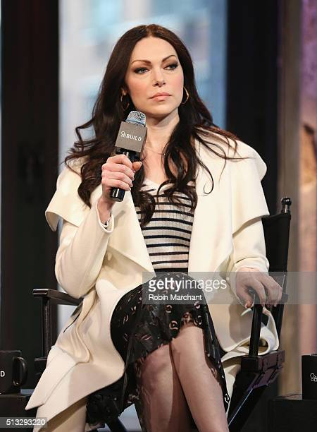 Laura Prepon attends AOL Build Presents 'The Stash Plan' at AOL Studios In New York on March 2 2016 in New York City