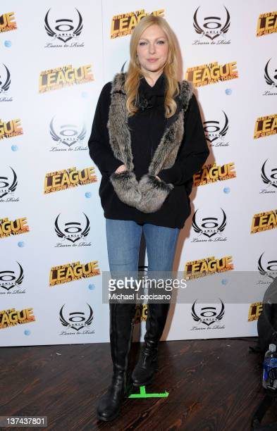 Laura Prepon attends Day 1 of Oakley Learn to Ride Powered by ATT and the League of Super Fast Things on January 20 2012 in Park City Utah