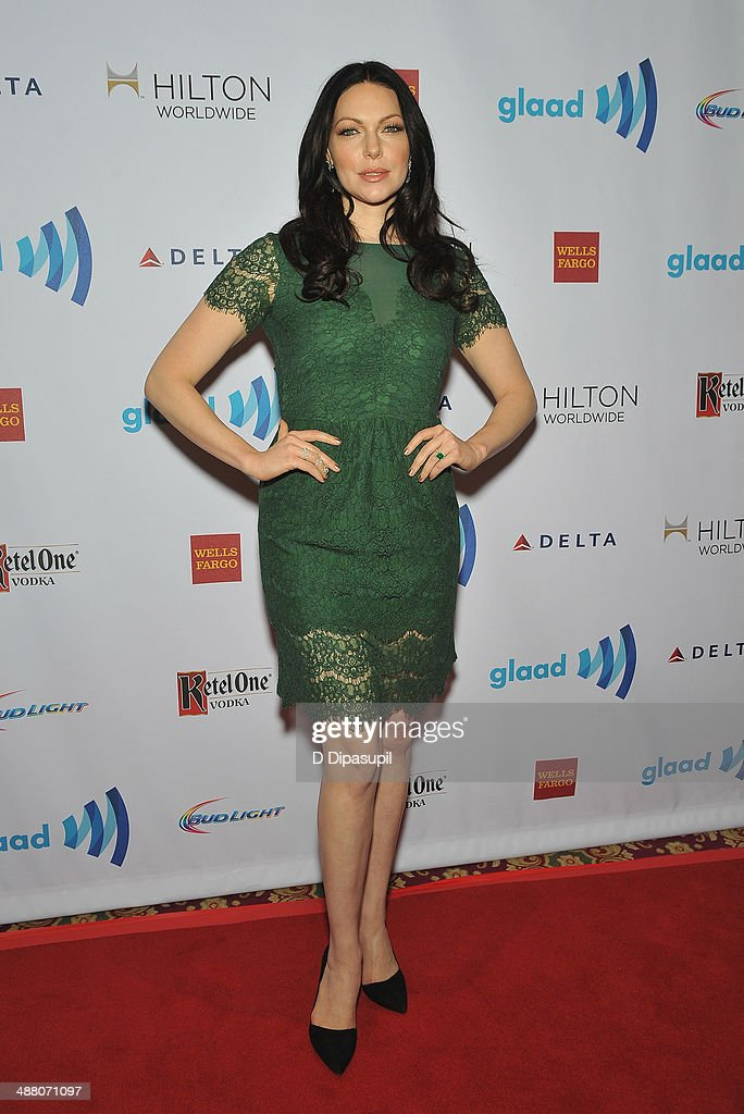 <a gi-track='captionPersonalityLinkClicked' href=/galleries/search?phrase=Laura+Prepon&family=editorial&specificpeople=211299 ng-click='$event.stopPropagation()'>Laura Prepon</a> attends the 25th Annual GLAAD Media Awards In New York on May 3, 2014 in New York City.