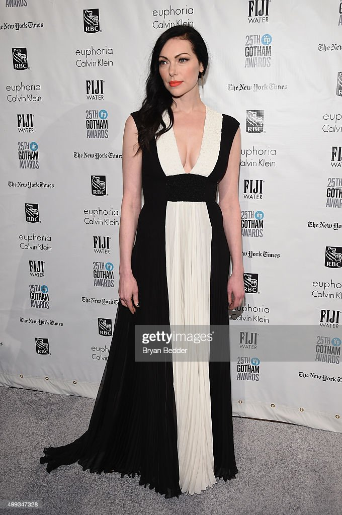 Laura Prepon attends the 25th IFP Gotham Independent Film Awards cosponsored by FIJI Water on November 30 2015 in New York City