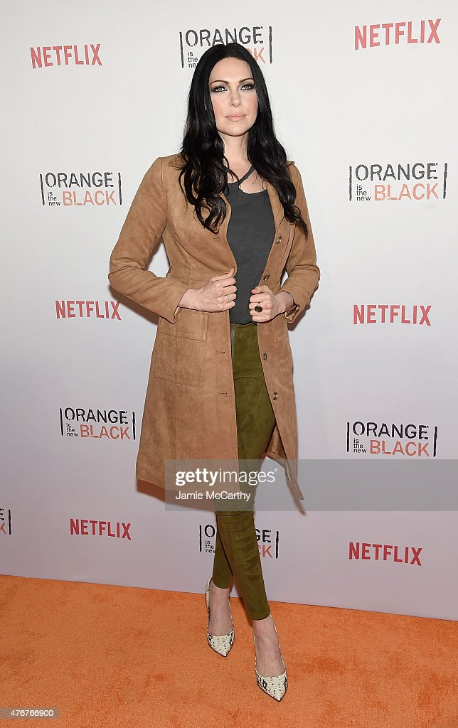 Laura Prepon attends the 'Orangecon' Fan Event at Skylight Clarkson SQ. on June 11, 2015 in New York City.