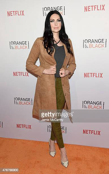 Laura Prepon attends the 'Orangecon' Fan Event at Skylight Clarkson SQ on June 11 2015 in New York City