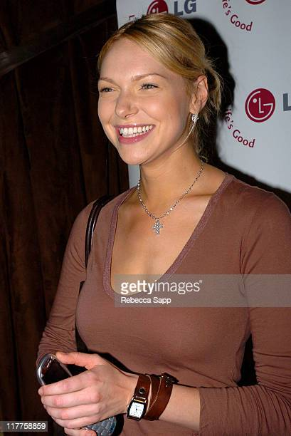 Laura Prepon during 2005 Stuff Style Awards LG at Stuff Style Awards at Hollywood Roosevelt Hotel in Los Angeles California United States