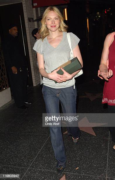Laura Prepon during Celebrity Sightings at Parc Club in Hollywood May 1 2007 at Parc Club in Hollywood California United States