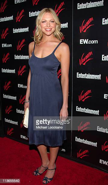 Laura Prepon during Entertainment Weekly 2007 Upfront Party Red Carpet at The Box in New York City New York United States