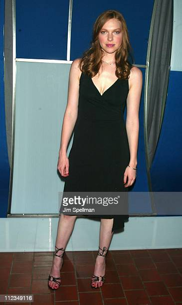 Laura Prepon during Fox Television 20022003 Upfront Party at Pier 88 in New York City New York United States