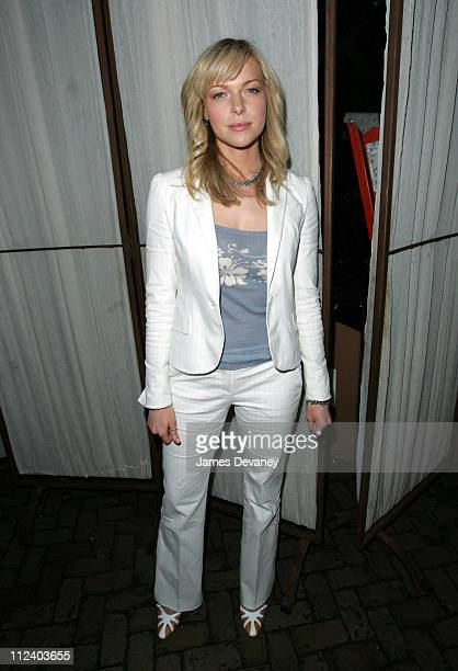 Laura Prepon during Fox Upfront 20042005 at The Boathouse in Central Park in New York City New York United States