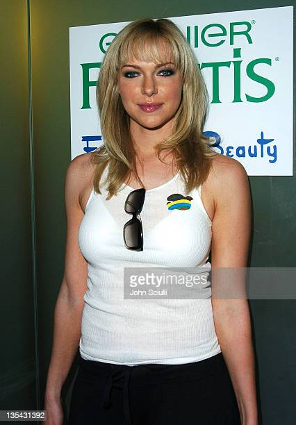 Laura Prepon during Garnier Fructis Presents the Fred Segal Beauty Maxim Magazine Hot 100 Salon at Hard Rock Hotel Casino in Las Vegas Nevada United...