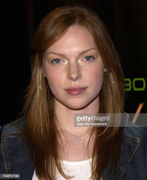 Laura Prepon during Launch Party for Xbox Live Arrivals at Peek at The Sunset Room in Hollywood California United States