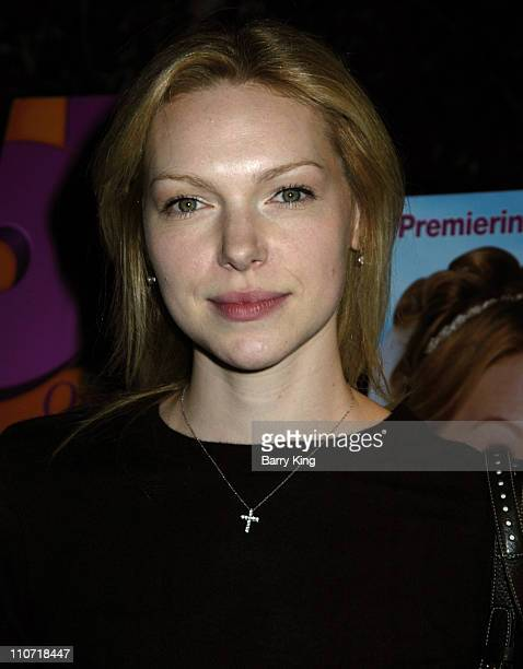 Laura Prepon during Oxygen Premiere of Their Original Feature 'Romancing the Bride' Arrivals and Inside at Global Cuisine at the LOT in West...