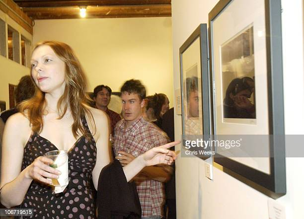 Laura Prepon during Tanqueray No 10 and Christopher Masterson host Art Show Featuring Tiber McCormick Cyril Helnwein at Jason Lee's Downtown LA Loft...