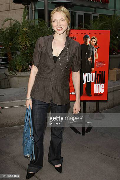 Laura Prepon during 'You Kill Me' Los Angeles Premiere Arrivals at ArcLight Hollywood in Hollywood California United States