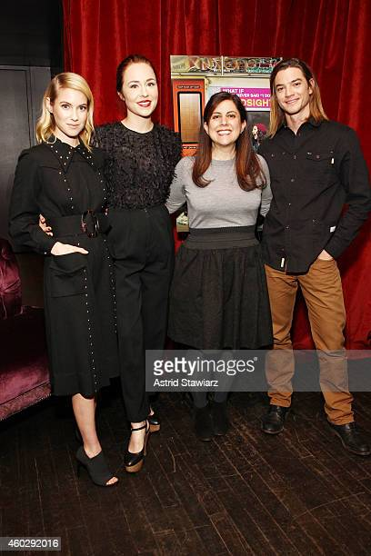 Laura Ramsey Sarah Goldberg Emily Fox and Craig Horner attend Entertainment Weekly And VH1 Host A Special Screening Of VH1's New Scripted Series...