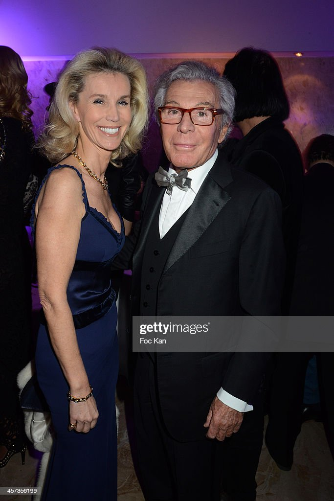 Laura Restelli Brizard and Jean Daniel Lorieux attend 'The Best 2013' Ceremony Awards 37th Edition at the Salons Hoche on December 16, 2013 in Paris, France.