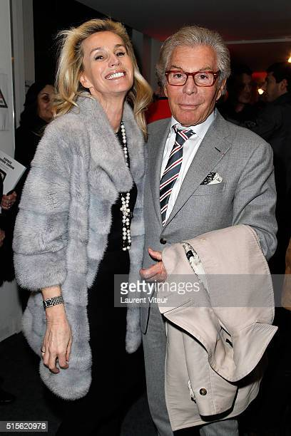 Laura Restelli Brizard and JeanDaniel Lorieux attend has the signature of the book 'Espace Cardin' by JeanPascal Hesse at Espace Pierre Cardin on...