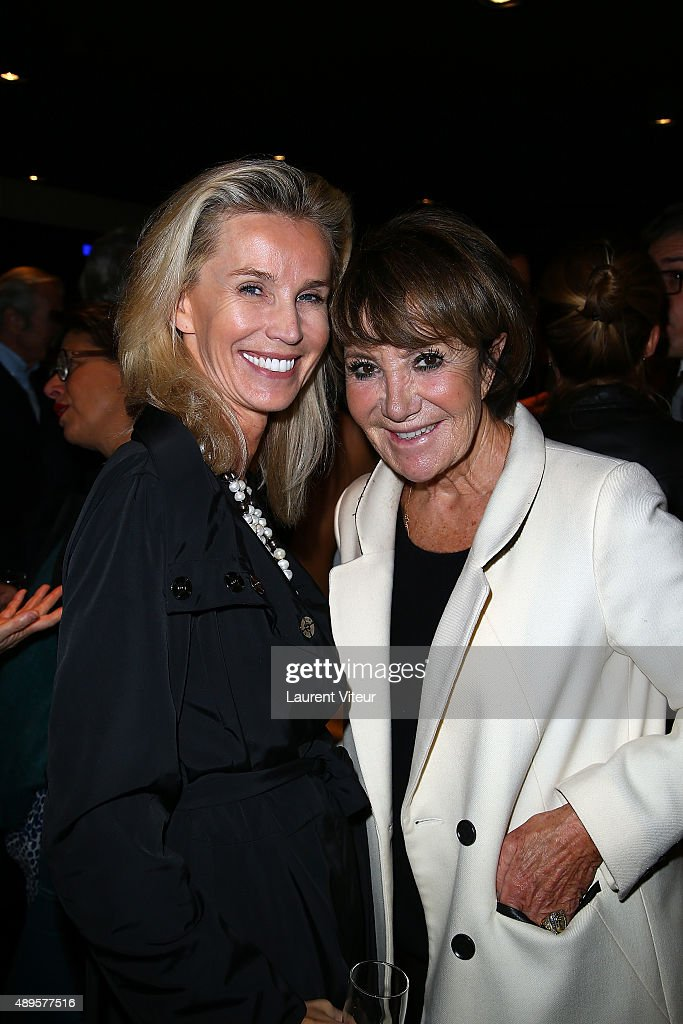 Laura Restelli Brizard and Yaguel Didier attend the 'Maison Fabre x DS World Paris' At The DS Flagshipstore In Paris on September 22, 2015 in Paris, France.