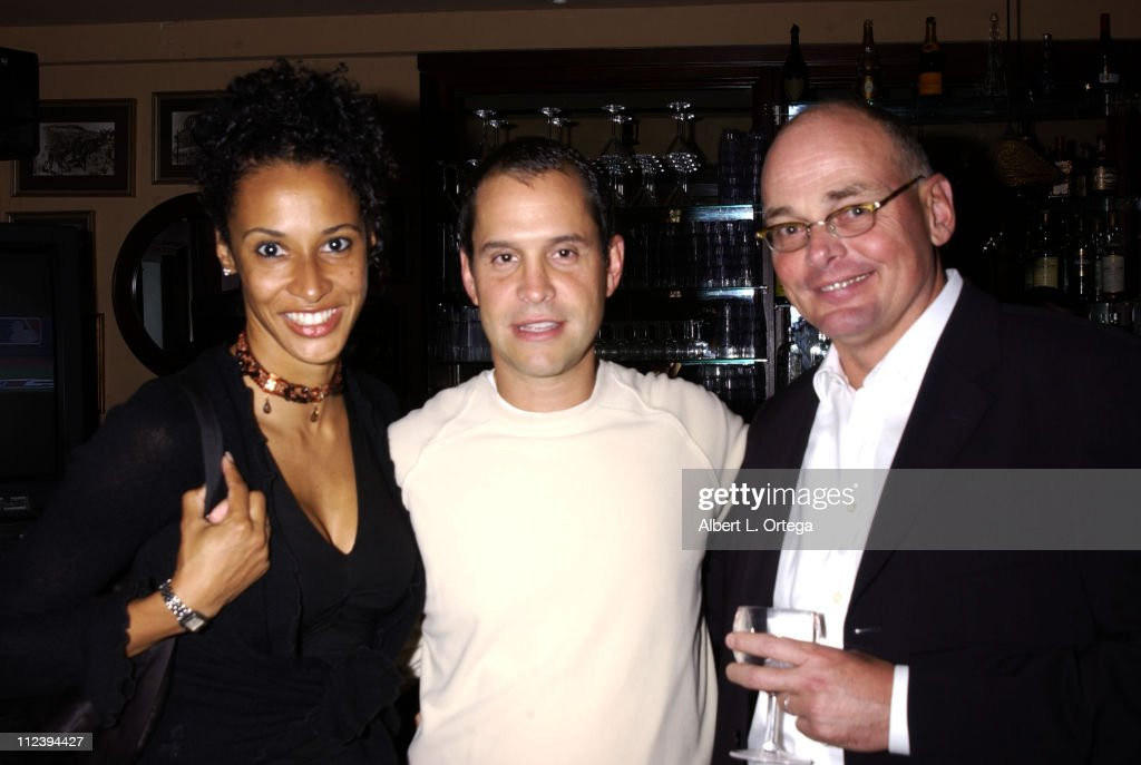 Laura Robbins Brian Robbins and Tony Amatullo during Screening party for 'Birds of Prey' at The Guys Club in West Hollywood California United States