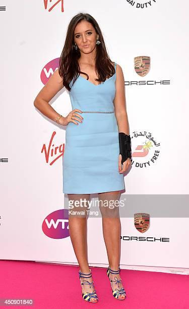 Laura Robson attends the WTA PreWimbledon party at Kensington Roof Gardens on June 19 2014 in London England