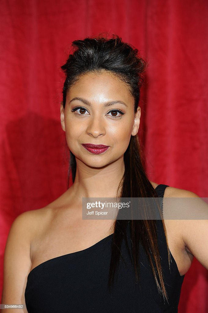 Laura Rollins attends the British Soap Awards 2016 at Hackney Empire on May 28, 2016 in London, England.