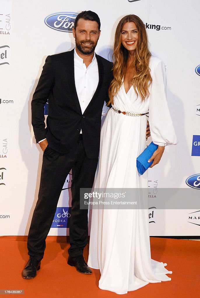 Laura Sanchez and David Ascanio attend the 4rd annual Starlite Charity Gala on August 10, 2013 in Marbella, Spain.