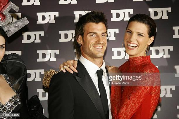 Laura Sanchez and Sevilla soccer player Aitor Ocio