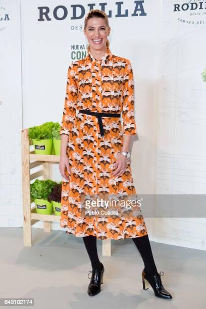 Laura Sanchez Attends Conversa Moda 2017 during MercedesBenz Madrid Fashion Week Autumn/Winter 2016/2017 at Ifema on February 20 2017 in Madrid Spain