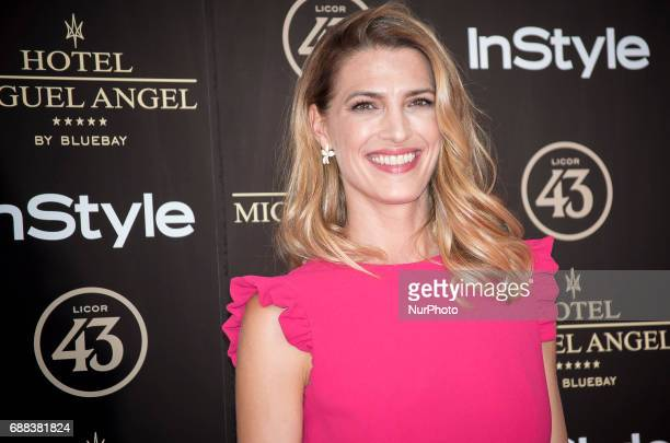 Laura Sanchez attends El Jardin del Miguel Angel party photocall at Miguel Angel hotel on May 24 2017 in Madrid Spain