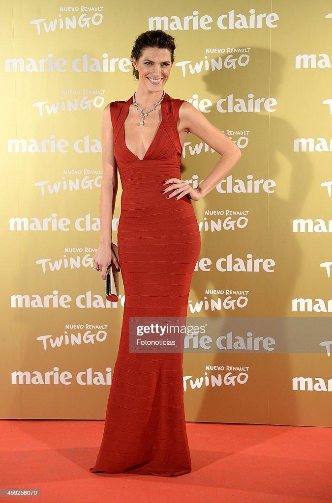 Laura Sanchez attends the 2014 Marie Claire Prix de la Mode at Callao Theater on November 19 2014 in Madrid Spain