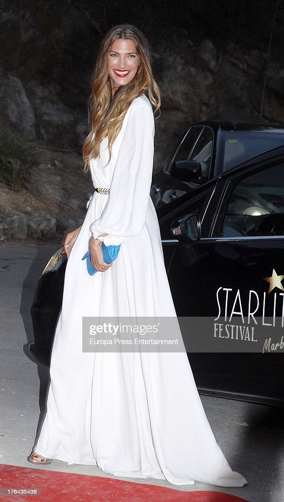 Laura Sanchez attends the 4rd annual Starlite Charity Gala on August 10, 2013 in Marbella, Spain.